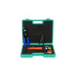 Maletín de herramientas de 6 piezas