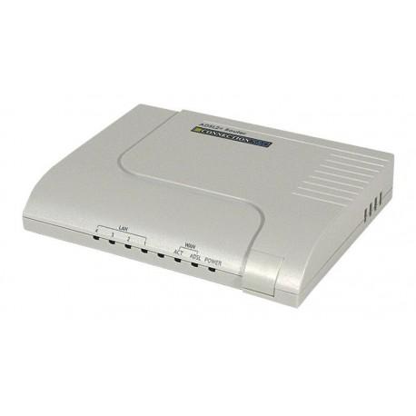 Modem router CONNECTION ADSL con switch de 4 p. 10/100 Mbps