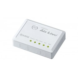 Router con punto de acceso Airlive mini Wireless 802.11 b/g/n, 300 Mbps
