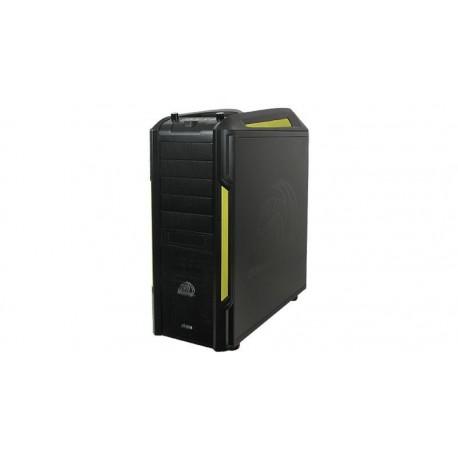 Caja ATX Venom Toxic sin fuente con ventilador trasero/frontal, negro