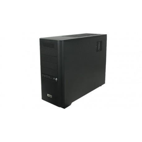 Caja ATX Sentor 6 ventiladores 4 USB, negra