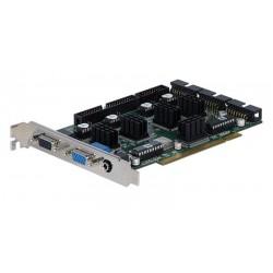 Tarjeta PCI para 16 cámaras con 4 entradas de audio 100fps