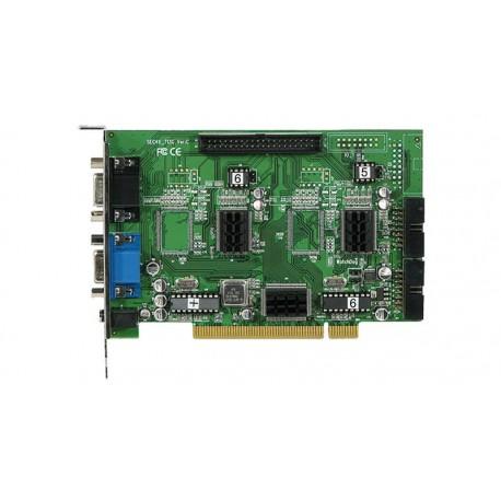 Tarjeta PCI para 8 cámaras - 2 entradas audio