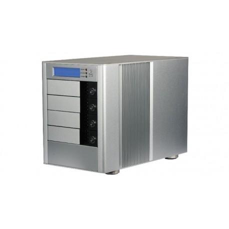 """Caja externa RAID 4xSATA 3.5"""" Raid 0, 1 y 0+1 en aluminio"""