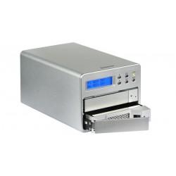 "Caja externa RAID 2xSATA 3.5"" RAID 1 USB y eSATA"