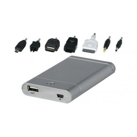 Batería portátil 3400 mAH Li-Ion Universal con salida USB