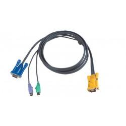 Cable de conexión para KVM AKH 0116/AKL 1116M por PS/2