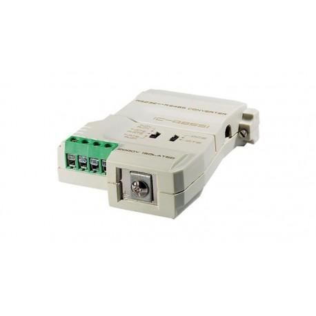 Conversor Bi-Direccional RS232, 422 y 485 Prot. 2000V