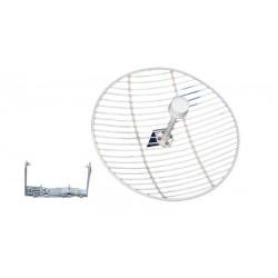 Antena exterior direccional parabólica de 27 dBi PHASAK