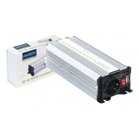 Inversor de corriente Energenie 12V para 230V