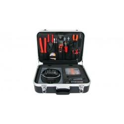Kit de herramientas de 68 piezas para instalación de fibra óptica