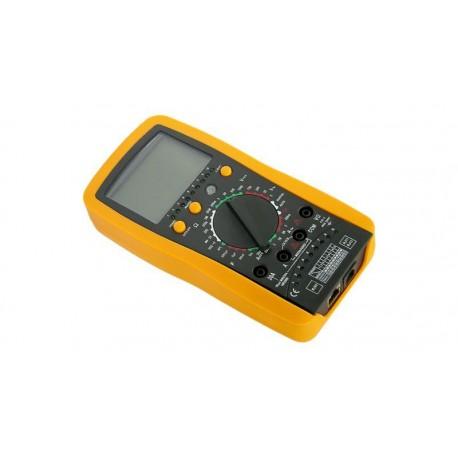 Multímetro digital con comprobador RJ45