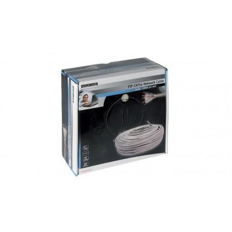 Bobina de cable FTP Cat. 5E Flexible gris 100 m