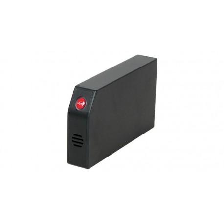 """Caja externa 3.5"""" SATA/USB 2.0 negra"""