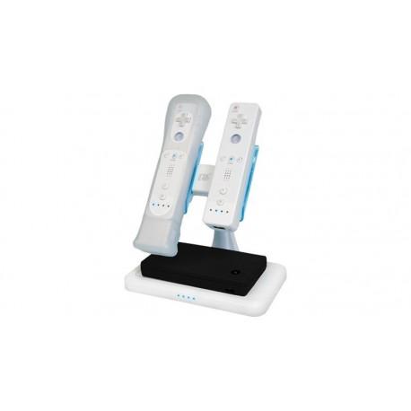 Cargador multifunción por inducción para Wii, DSi y DSiXL, blanco