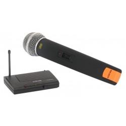 Micrófono y receptor inalámbrico de 1 canal