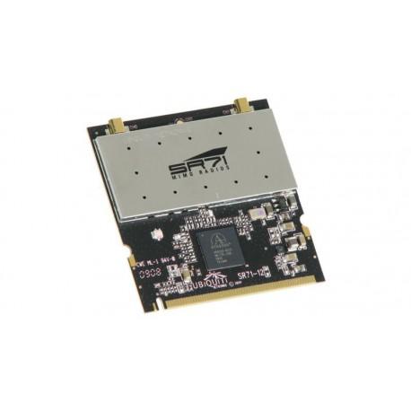 Tarjeta Mini-PCI Radio MIMO 802,11/b/g/n 2.4 GHz 28 dBm 2x2 exterior