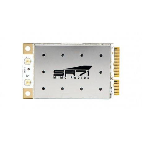 Tarjeta mini PCI-Express wireless Ubiquiti 802.11/a/b/g/n 400mW