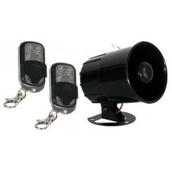 Kit alarma con mandos para automóvil con indicadores de voz