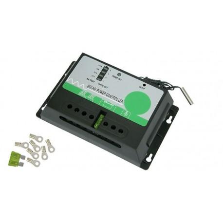 Controlador de carga y descarga continua 12V