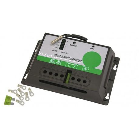Controlador de carga y descarga continua 24V