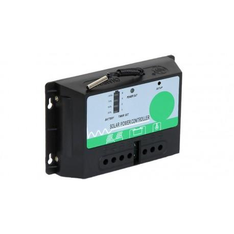 Controlador de carga/descarga nocturna por energía solar 12V 10/20A