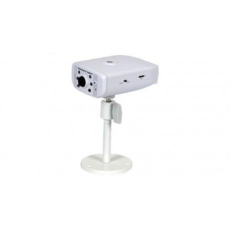 "Cámara IP sensor CMOS 1/4"" SXGA 1.3 Megapíxel 802.11b/g IR"