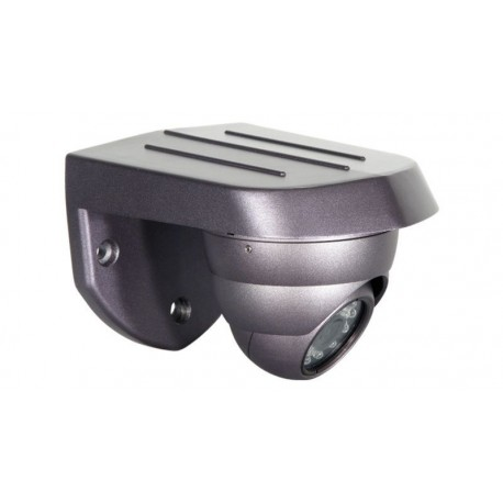 Cámara IP 10/100 Mbps para techo CCD Sony con infrarrojos