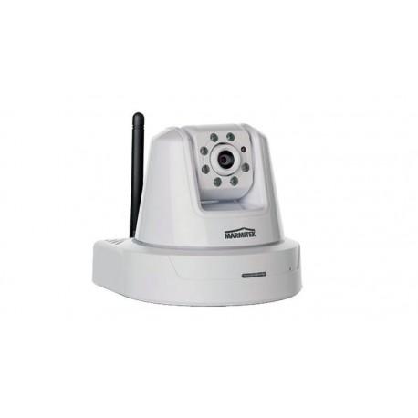 Cámara inalámbrica con infrarrojos, Pan & Tilt, IP Robocam 21 con audio