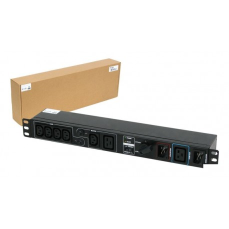 PDU switch Bypass PHASAK-RACK 19""