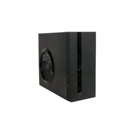 Caja ATX A+Case CS-188AF con ventilador de 250 mm negro