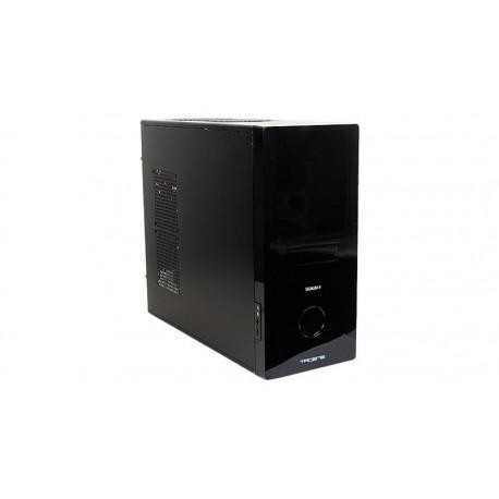 Caja semitorre ATX Tacens Signum II LCD táctil y ventilador silencioso 120 mm