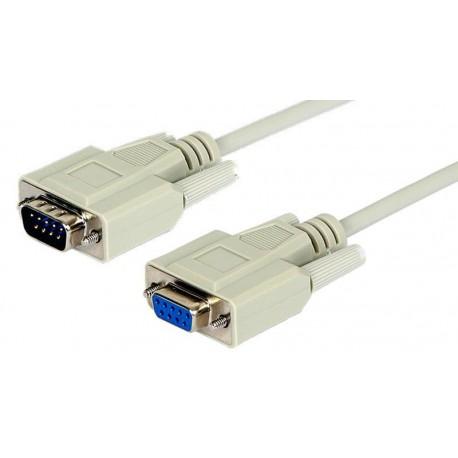 Cable de extensión DB9 M/H inyectado