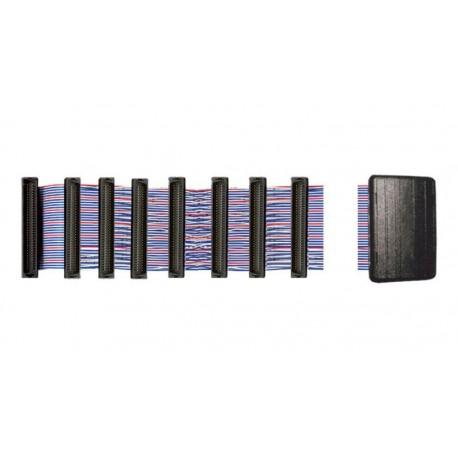 Cable plano SCSI HPDB 68 M Trenzado + Terminador LVD