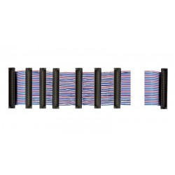 Cable plano SCSI 14xHPDB 68 M Trenzado