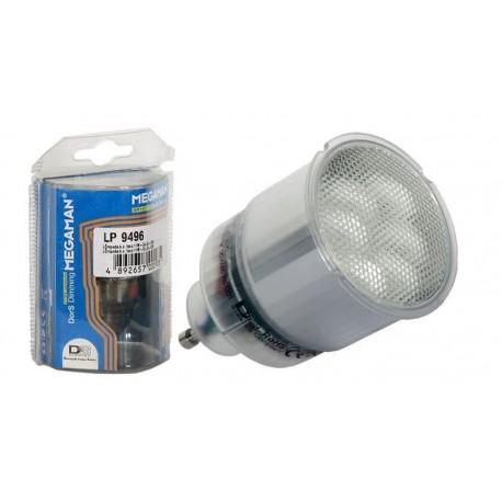Lámpara bajo consumo foco 11W. GU10. 10Kh