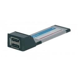 Tarjeta ExpressCard 34mm SATA II 2p eSATA II