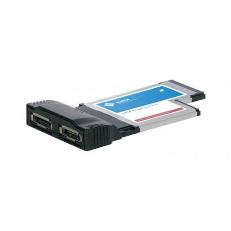 Tarjeta ExpressCard 54mm SATA II 2p eSATA II