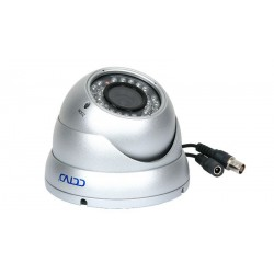 "Cámara CCTV de exterior Domo IP 55 1/3"" 4-9 mm Sony 470 líneas IR, 30m"