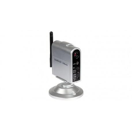 Cámara larga distancia 2.4 GHz con batería y micrófono