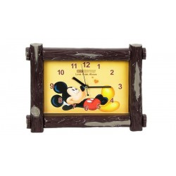 Cámara inalámbrica 2.4 Ghz + micro, reloj Mickey