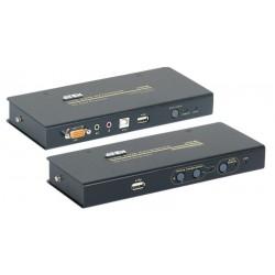 Kit de extensión KVM USB Cat. 5 hasta 250m