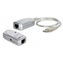 Amplificador de señal USB por UTP hasta 60 metros