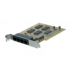 Tarjeta PCI serie 16c650 4 puertos Re-map DOS