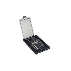 "Adaptador interno SSD 2.5"" para 2 tarjetas CF a SATA"