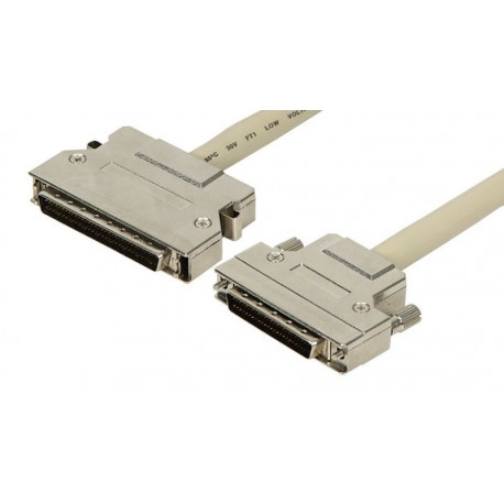 Cable SCSI HPDB68M - HPDB50M con enganches