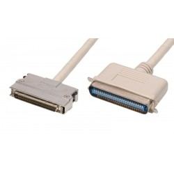 Cable SCSI HPDB68M - CN50M con enganches