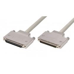 Cable SCSI HPCN68M - HPDB68M con tornillos