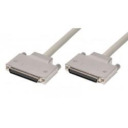 Cable SCSI HPCN68M - HPCN68M con tornillos