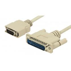 Cable de conexión Notebook HPCN20M/DB25M, 1.80m